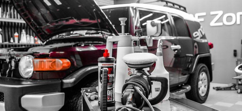 Восстановление фар Toyota Fj Cruiser