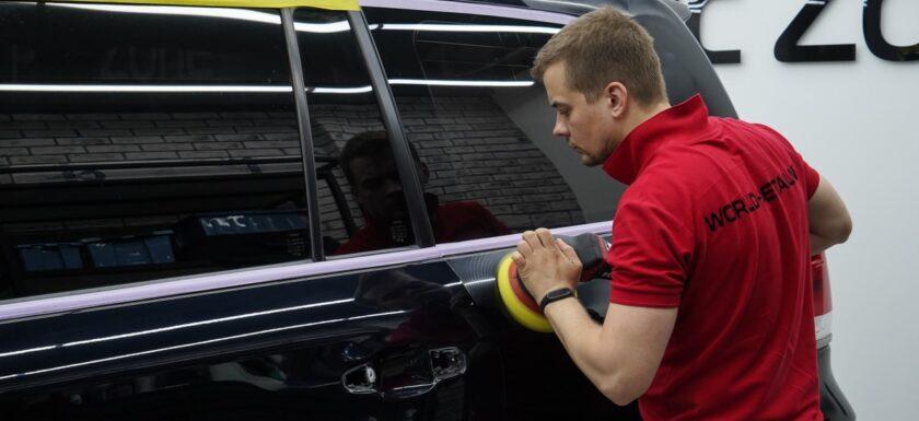 Детейлинг полировка автомобилей в Москве