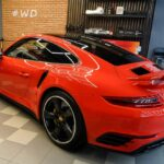 Защита автомобиля керамикой Порш 911