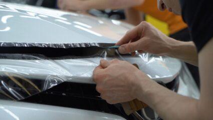 Защита авто плёнкой