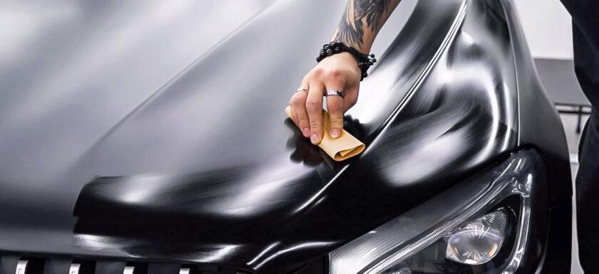 Защита керамикой матового авто