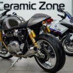 Керамика на мотоцикл