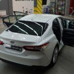 Нанесение нанокерамики на автомобиль