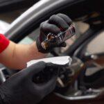Обработать салон авто защитным составом