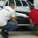 Обучение оклейке плёнкой автомобилей