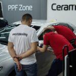 Обучение оклейки авто полиуретановой плёнкой