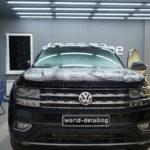 Оклейка автомобиля Volkswagen Teramont защитной плёнкой