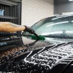 Оклейка машины Volkswagen Teramont прозрачной защитной плёнкой