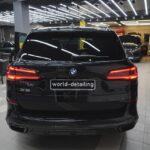 Оклеить полиуретановой плёнкой BMW X5 в Москве