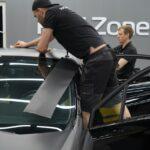 Оклейка автомобилей виниловой плёнкой