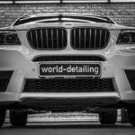 Оклейка автомобиля BMW X3 защитной плёнкой Suntek цены