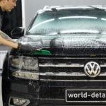 Оклейка авто Volkswagen Teramont антигравийной плёнкой