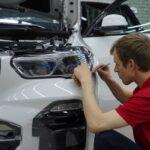 Оклейка антигравийной плёнкой авто в Москве