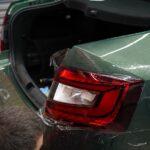 Оклейка антигравийной плёнкой авто Škoda Octavia