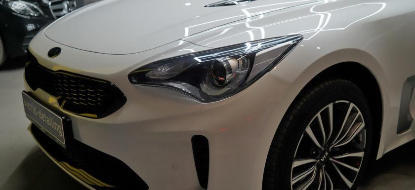 Надёжная защита кузова и лакокрасочного покрытия автомобиля Kia Stinger