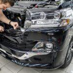 Оклейка кузова автомобиля защитной плёнкой