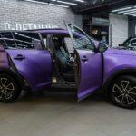 Оклейка кузова автомобиля матовым винилом в Москве цена