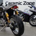 Оклейка мотоцикла полиуретановой плёнкой в Москве дёшево