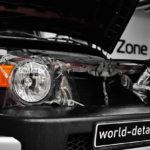 Toyota Fj Cruiser — оклейка передних фар плёнкой