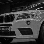 Оклейка плёнкой BMW X3 в Москве