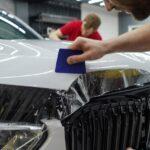 Оклейка полиуретановой плёнкой автомобиль