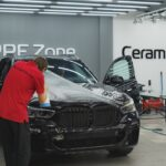 Оклейка полиуретановой плёнкой BMW X5 цена в Москве