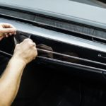 Оклейка салона автомобиля виниловой плёнкой