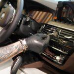 Оклейка салона автомобиля плёнкой