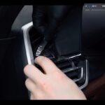 Оклейка салона автомобиля плёнкой BMW
