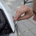 Оклейка BMW 5 антигравийной плёнкой Suntek цена