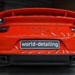 Покрытие автомобиля керамикой Рorsche 911