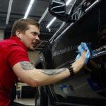 Покрытие авто керамикой в Москве
