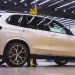 Покрытие кузова автомобиля керамикой BMW X5