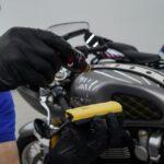 Покрытие мотоцикла керамикой