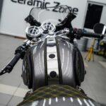 Покрыть керамикой мотоцикл