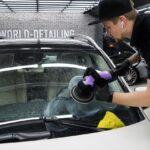 Полировка лобового стекла для Mercedes GLE