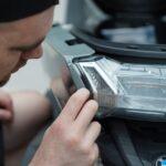 Работы по оклейке полиуретановой плёнкой BMW C400GT