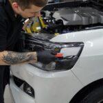 Снятие плёнки с автомобиля цена