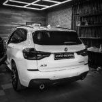 Тонировка стёкол BMW X3