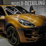 Тонировка стёкол Porsche Macan