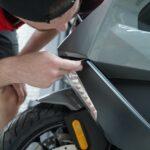 Услуги по оклейке полиуретановой плёнкой BMW C400GT