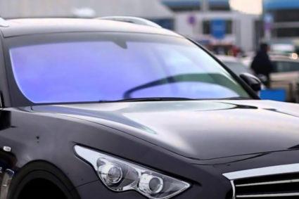 Тонировка автомобильных стёкол атермальной плёнкой