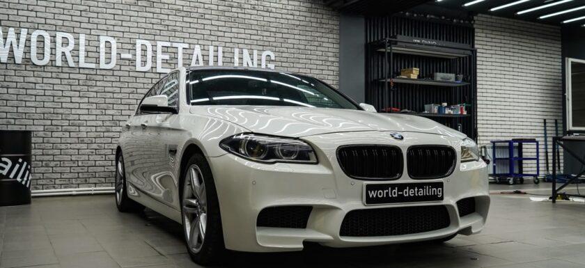 BMW — дизайн интерьера плёнкой