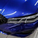 BMW 320 оклейка крыши чёрной плёнкой