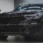 BMW X5 оклейка полиуретановой плёнкой в Москве дёшево