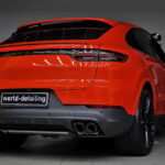 Porsche Cayenne Coupe защита кузова керамикой